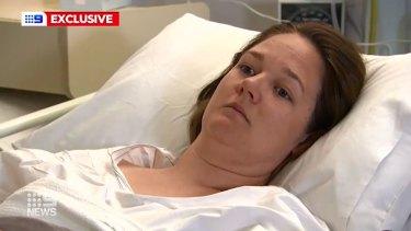 Alicia Ramsay is recovering at Royal Perth Hospital.