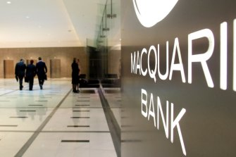 Macquarie shares fell amid revelations about Nuix, the tech company it invested in and floated last December.