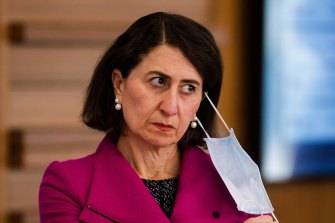 NSW Premier Gladys Berejiklian says employers have the right to mandate vaccination.