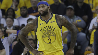 Former Warror and now Laker DeMarcus Cousins has a significant knee injury.