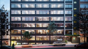 Blackmores, Sony and Audinate have leased floors at 64 Kippax Street in Sydney's Surry Hills. The building has been developed by the April Group.