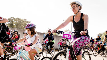 The Big Canberra Bike Ride is on this weekend.