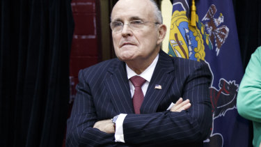 Rudy Giuliani, former NY mayor and now personal lawyer to US President Donald Trump.