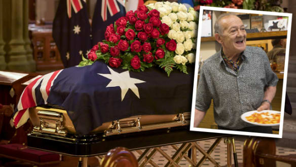 'He was one of the greats': Hundreds farewell Pellegrini's Sisto