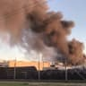 Firefighters still battling to extinguish Campbellfield factory blaze