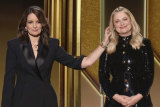 Golden Globes hosts Tina Fey and Amy Poehler called out the HFPA in their monologue.