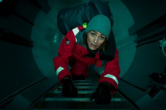 Down the rabbit hole: DCI Amy Silva plunges into a foreign world as she investigates a mysterious death aboard a nuclear submarine.