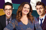 Chris Taylor, Chrissie Swan and Frank Wood will star in Ten's local version of the hit UK panel show Would I Lie To You?