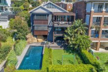 Ultra-prestige homes like this house at 18 St Thomas Street, Bronte have held their resale values during 2019.