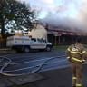 Historic hotel in Gembrook engulfed in flames