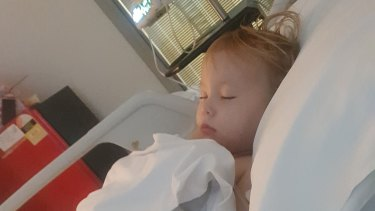 Two-year-old Saphira Harwood swallowed 20 button batteries.