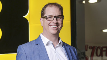 JB Hi-Fi group chief executive Richard Murray.