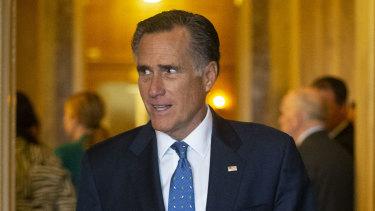 Senator Mitt Romney, a Republican, voted against Trump.