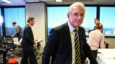Out the door: FFA chairman Steven Lowy will leave his position at the end of the year.