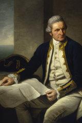 Captain James Cook, portrait by Nathaniel Dance, 1776.