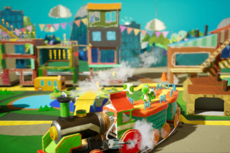 Yoshi's Crafted World, one of the Nintendo Switch's flagship games.