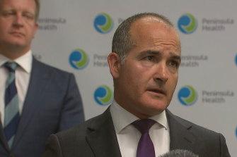 Mental Health Minister James Merlino.