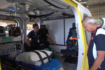 Rescue helicopters across the state, such as those operated by RACQ LifeFlight Rescue, have joined the growing list of those adjusting to life under COVID-19, with new measures rolled out to protect crews and patients.