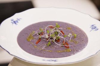 Blake Proud's potato and leek soup with a twist.
