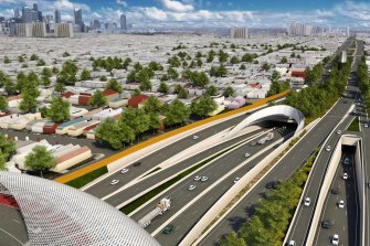 The opposition vows to revive the  East West Link project, which has been rejected twice in the past.