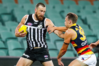 While Adelaide have their own battles, Port Adelaide are fighting to use their prison-bar jumper more often.