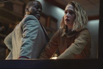 Ncuti Gatwa as Eric Effiong and Jemima Kirke as high school principal Hope Haddon.
