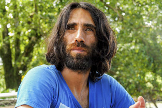 Refugee Behrouz Boochani arrived in New Zealand in November for a writers' festival.