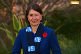"""NSW PremierGladys Berejiklian has advocated changing the first line of the national anthem from saying """"we are young and free"""" to """"we are one and free""""."""