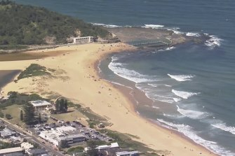 A man died at North Narrabeen Beach on Monday. Emergency services are expecting a busy Australia Day on Tuesday as temperatures continue to rise.
