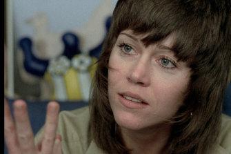 Jane Fonda in '70s film Tout va Bien.