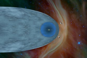 Voyager 1 and 2 have now both passed through the heliosphere.