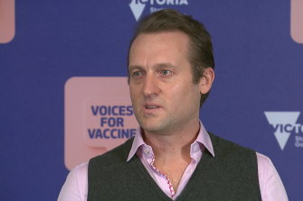 Obstetrician Dr Ryan Hodges has urged anyone who is pregnant to get vaccinated.