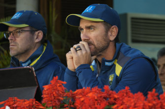 Justin Langer: questions need to asked, his contract expires in the middle of 2022.
