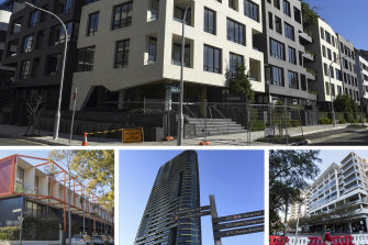 A parliamentary committee is scrutinising the NSW building industry after a string of unit blocks were evacuated due to safety concerns.
