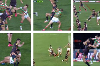 Wayne Bennett has taken aim at the Panthers for practising 'illegal' tactics to protect kicks from Nathan Cleary.