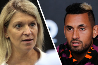 Nick Kyrgios has no regrets taking on Australian Olympic Committee chef de mission Kitty Chiller before the 2016 Rio Games.