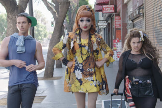 Familiar face: Bianca Del Rio is the star of two-part series Not Today, Bianca, on Stan.