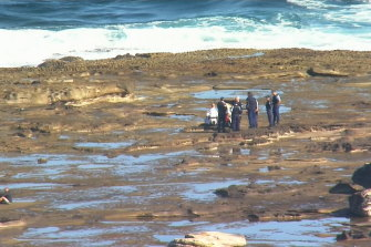 Police are appealing for witnesses who saw or recorded the boat incident off shore from La Perouse.