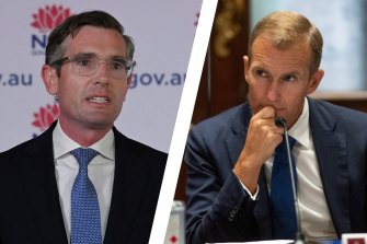 Dominic Perrottet and Rob Stokes are the favourites to replace Gladys Berejiklian.