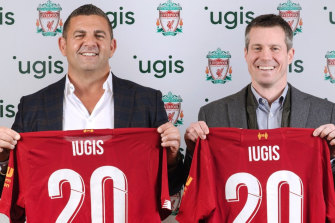 Bill Papas's Iugis even signed a deal with Liverpool Football Club.