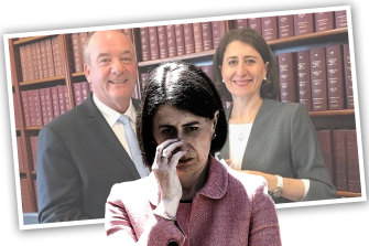Gladys Berejiklian has been forced to defend her relationship with former Wagga Wagga MP Daryl Maguire, who is the subject of a corruption inquiry.