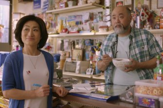 Jean Yoon and Paul Sun-Hyung Lee as Umma and Appa in Kim's Convenience.