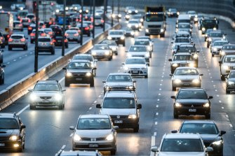 About $500 million will be invested to improve traffic flow at two pinch points along the Monash Freeway.