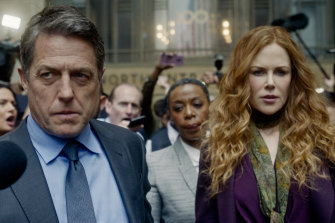 Hugh Grant and Nicole Kidman star in the upcoming series The Undoing.
