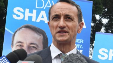 Dave Sharma is being urged to run in the election next year.