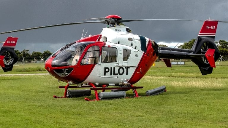 The trainee helicopter pilot was from Aviator Group, a company which specialises in marine pilot transfers.