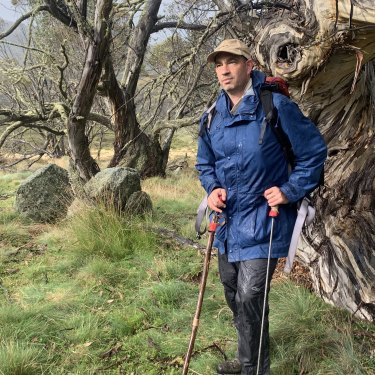 """Avid hiker Anthony Sharwood: """"We spend our lives following paths. There's almost no randomness left."""""""