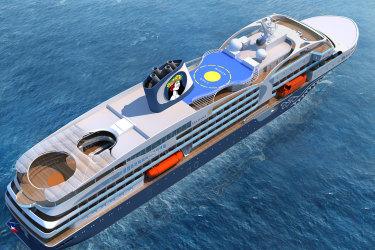 Renderings of AraMana New Ship Setting Sail in 2022
