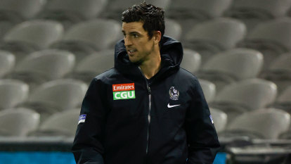 Pendlebury's season over after suffering leg fracture against Port Adelaide