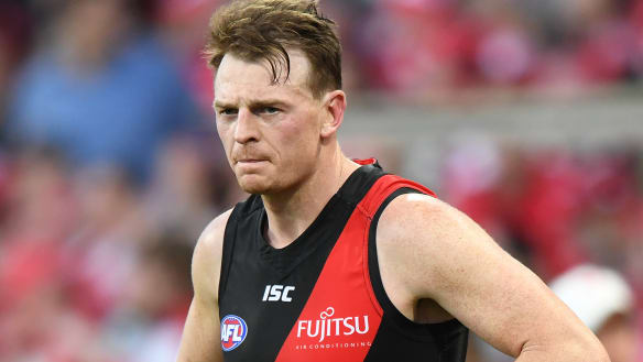 Goddard won't be offered new contract at Essendon